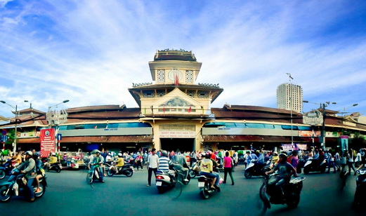 The Cho Lon Market - Ho Chi Minh cultural city tour