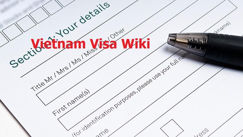 Vietnam visa wiki